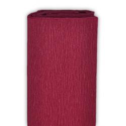 Bibuła marszczona, krepina - wiśniowa, 50 x 200 cm