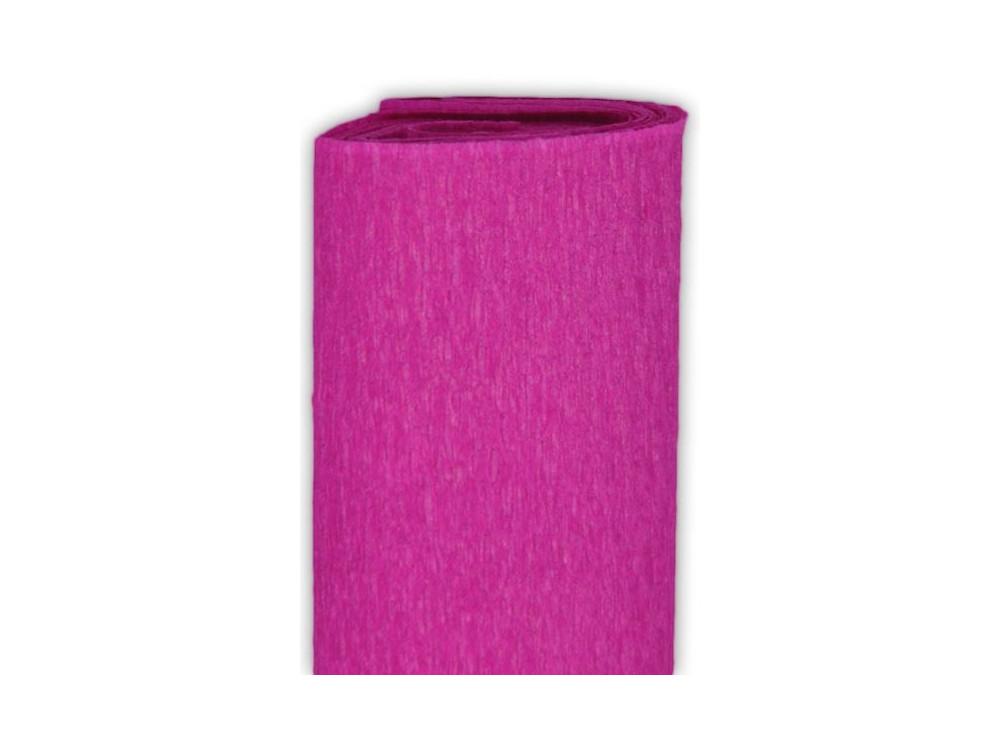 Bibuła marszczona, krepina - purpurowa, 50 x 200 cm