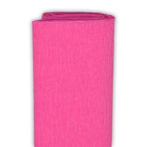 Bibuła marszczona 50 x 250 cm różowa ciemna