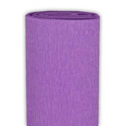 Bibuła marszczona, krepina - fioletowa, 50 x 200 cm
