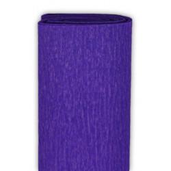 Bibuła marszczona, krepina - ciemnofioletowa, 50 x 200 cm