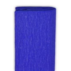 Bibuła marszczona, krepina - ultramaryna, 50 x 200 cm