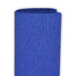 Bibuła marszczona 50 x 250 cm niebieski ciemny