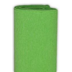 Bibuła marszczona, krepina - jasnozielona, 50 x 200 cm