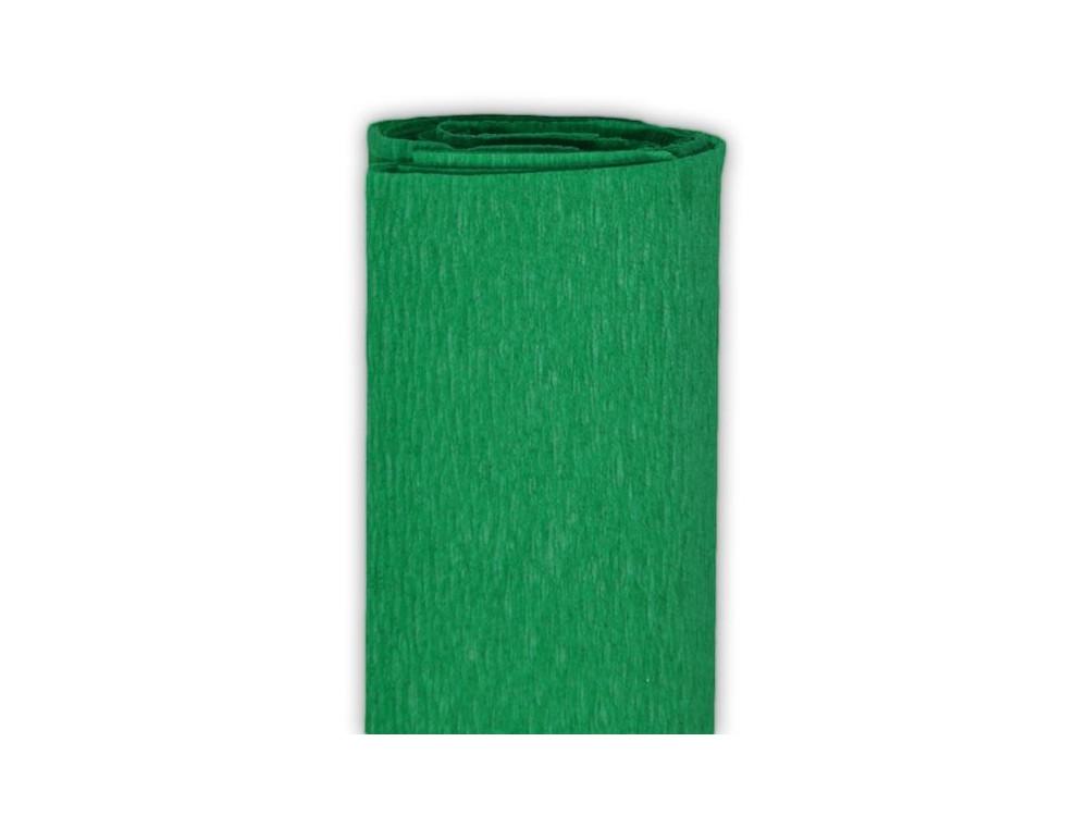 Bibuła marszczona, krepina - zielona, 50 x 200 cm