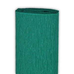 Bibuła marszczona 50 x 250 cm zielona morska