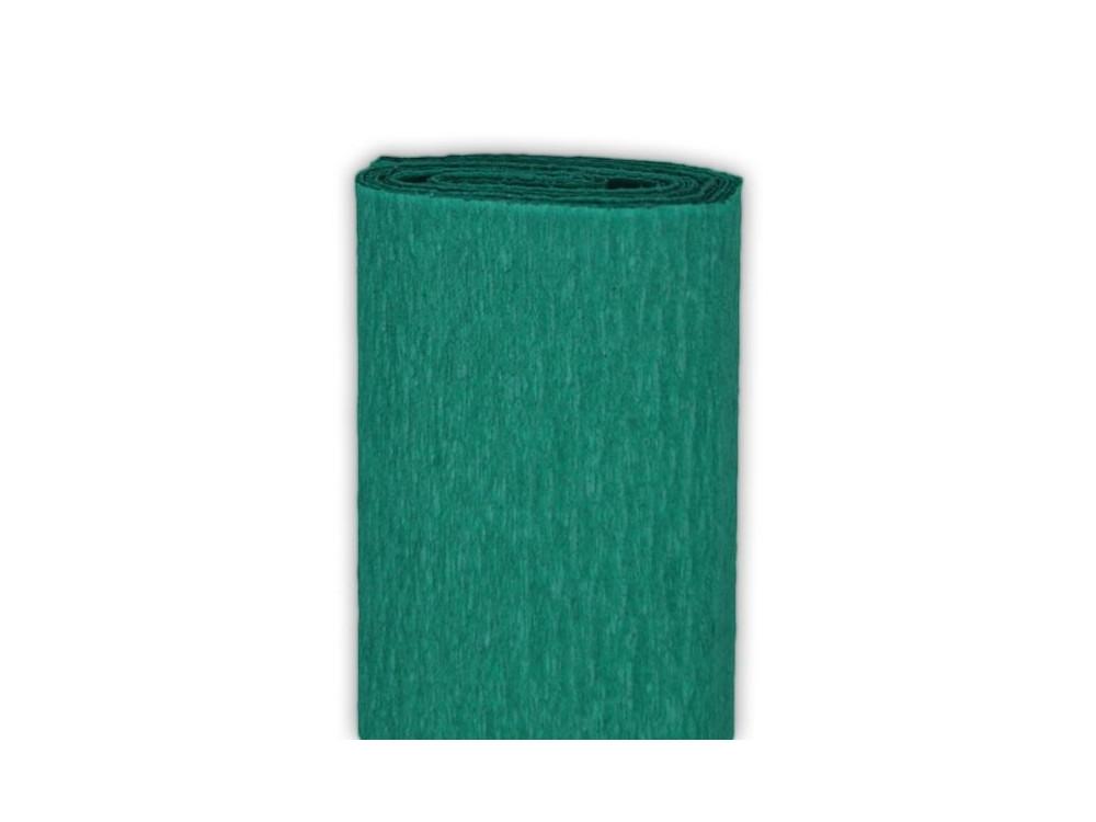 Bibuła marszczona, krepina - zieleń morska, 50 x 200 cm