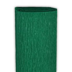 Bibuła marszczona, krepina - zielona jodła, 50 x 200 cm