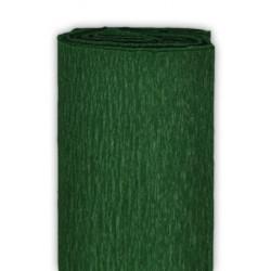 Bibuła marszczona, krepina - ciemnozielona, 50 x 200 cm