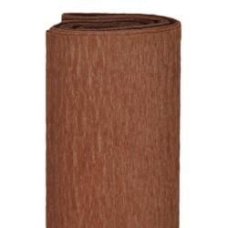 Bibuła marszczona, krepina - jasnobrązowa, 50 x 200 cm
