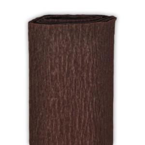 Bibuła marszczona 50 x 250 cm brązowa ciemna