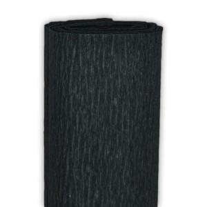 Bibuła marszczona 50 x 250 cm czarna