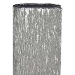 Bibuła marszczona, krepina - srebrna, 50 x 200 cm