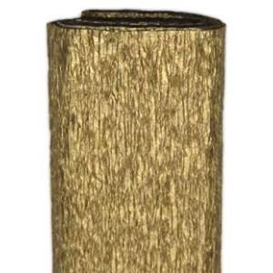 Bibuła marszczona 50 x 250 cm złota
