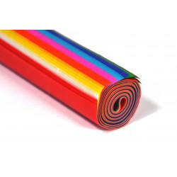 Bibuła gładka w rolce 76 x 50 cm - mix kolorów, 30 ark.