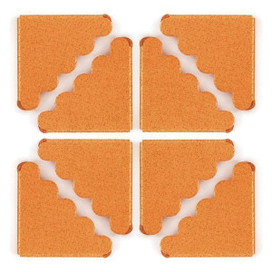 Narożniki ozdobne metalowe We R - Crop-A-Dile III - Shimmer Orange