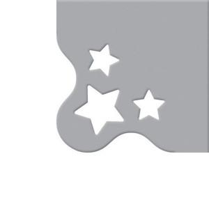 Wykrojnik We R - Crop-A-Dile III - Star Corner