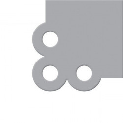 We R - Crop-A-Dile III - Die Cutting Plates - Scallop Corner