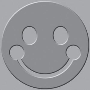 Płytka wytłaczająca We R - Crop-A-Dile III - Smiley Face