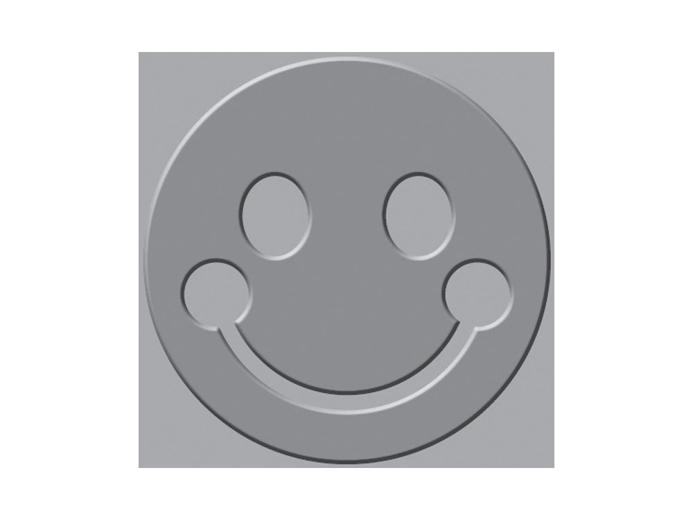 We R - Crop-A-Dile III - Embossing Plates - Smiley Face