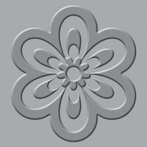 Płytka wytłaczająca We R - Crop-A-Dile III - Flower