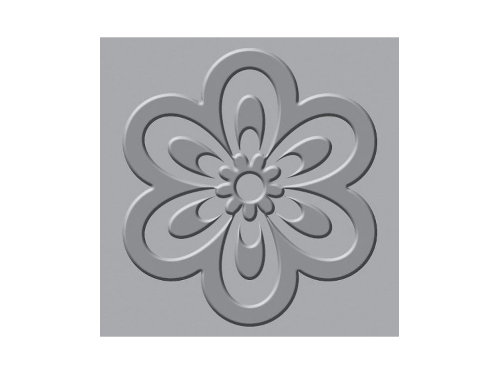 We R - Crop-A-Dile III - Embossing Plates - Flower