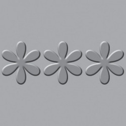 We R - Crop-A-Dile III - Embossing Plates - Flower Border