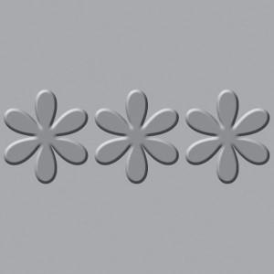 Płytka wytłaczająca We R - Crop-A-Dile III - Flower Border