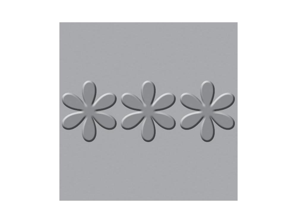 Płytka wytłaczająca Crop-A-Dile III - We R - Flower Border
