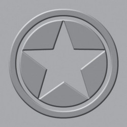 We R - Crop-A-Dile III - Embossing Plates - Star