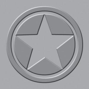 Płytka wytłaczająca We R - Crop-A-Dile III - Star