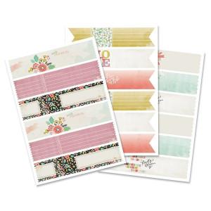 Naklejki na koperty - Envelope Wraps - Floral