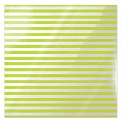 Folia 30 x 30 cm - We R - Neon Green Stripe