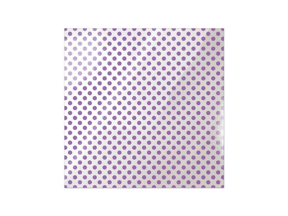 Folia 30 x 30 cm - We R - Neon Purple Dot