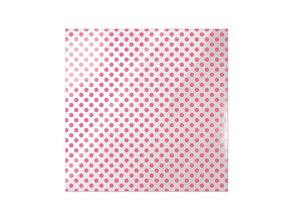 Folia 30 x 30 cm - We R - Neon Pink Dot