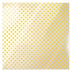 Folia 30 x 30 cm - We R - Neon Yellow Dot