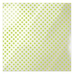 Folia 30 x 30 cm - We R - Neon Green Dot