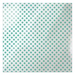 Folia 30 x 30 cm - We R - Neon Teal Dot