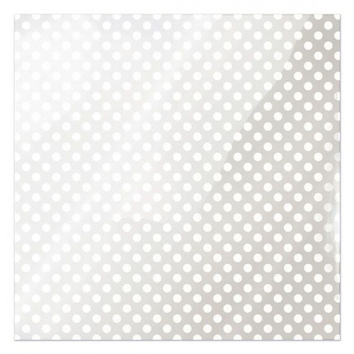 Folia We R Memory Keepers - Clearly Bold - White Dot