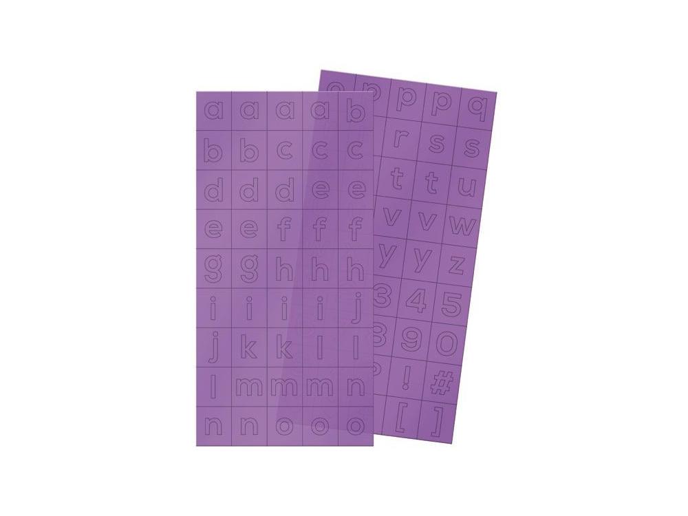 Naklejki plastikowe Clearly Bold - We R - Alfabet, 180 szt.