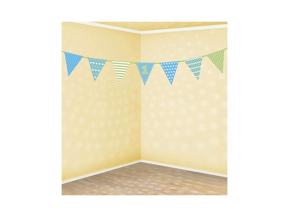 First birthday Paper Garland - 18 x 135 cm