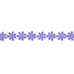 Cotton lace 1,2 cm x 4,3 m violet