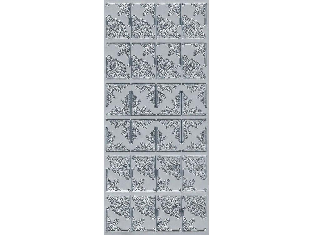 Sticker - Corners 145 silver