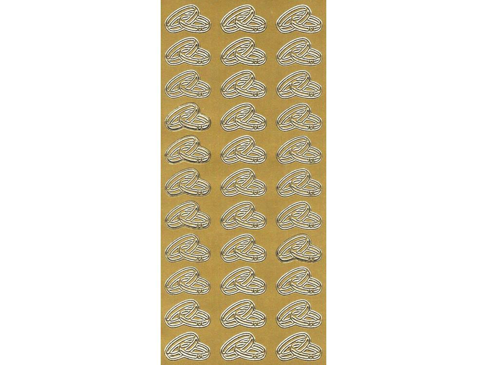 Stickersy - Obrączki 791 złoty