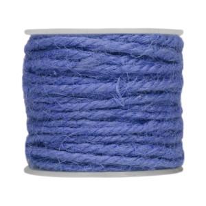 Sznurek ozdobny 3 mm x 10 m niebieski