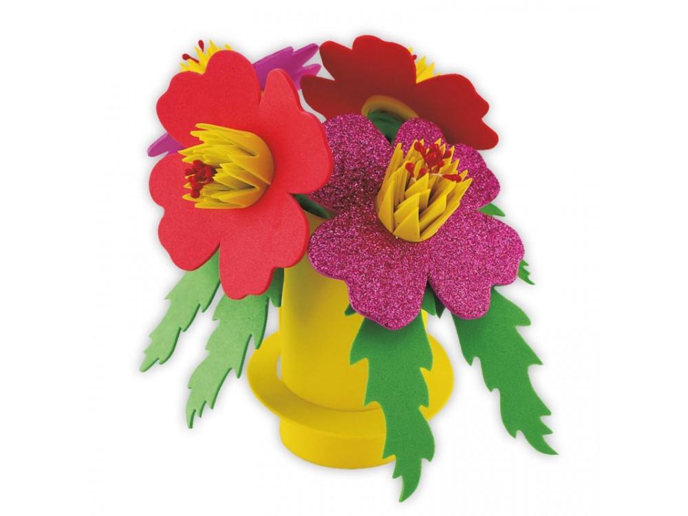 3D FOAM FLOWERS CRAFT KIT