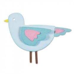 Zestaw wykrojników Thinlits - Sizzix - Sweetie bird, 5 szt.