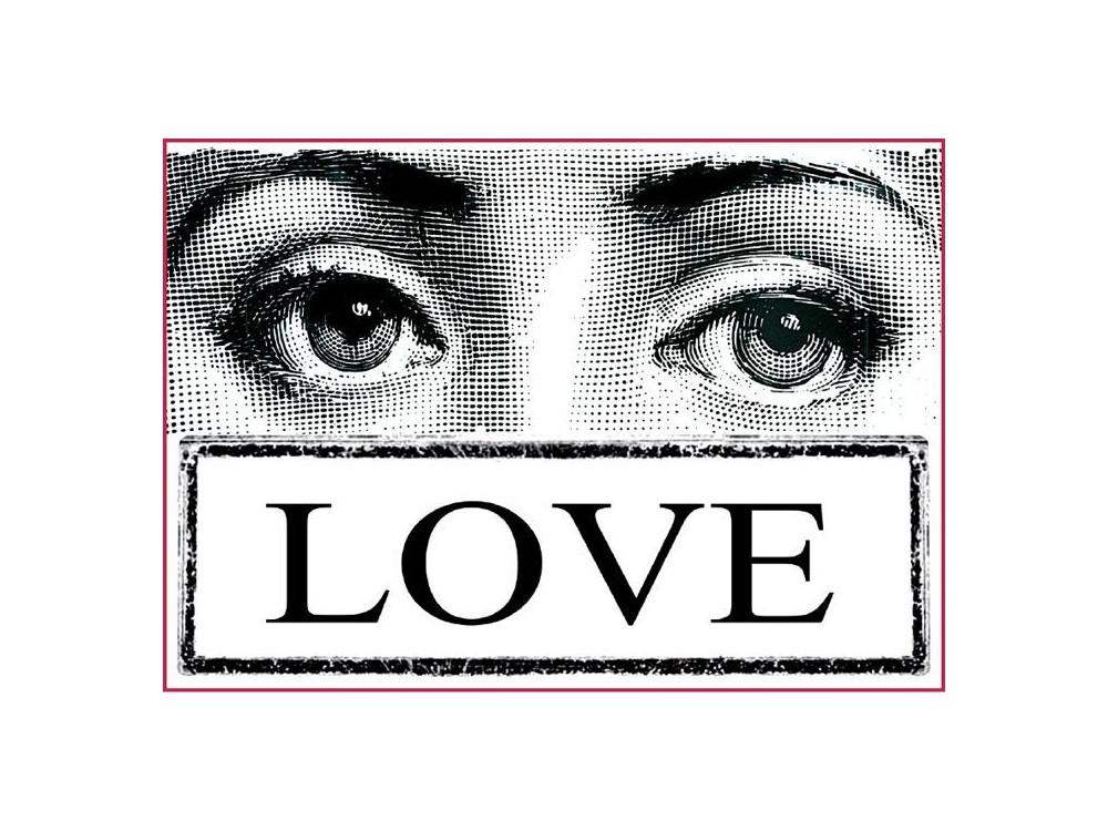 Papier ryżowy A4 - Stamperia - Oczy Love