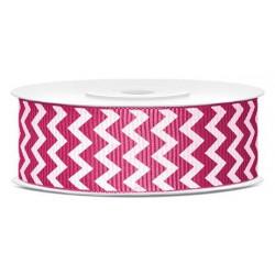 Repp Ribbon Dark Pink 25 mm 10 m