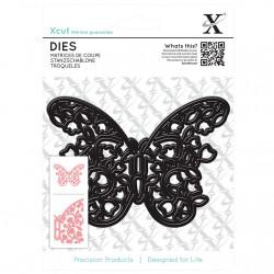 X-CUT DIE - FLORAL FILIGREE BUTTERFLY